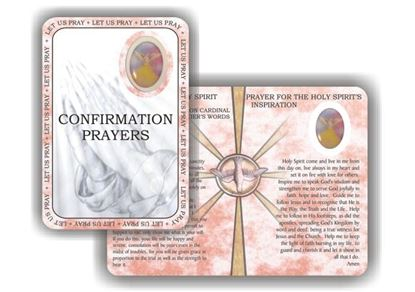 Picture of Confirmation prayer booklet